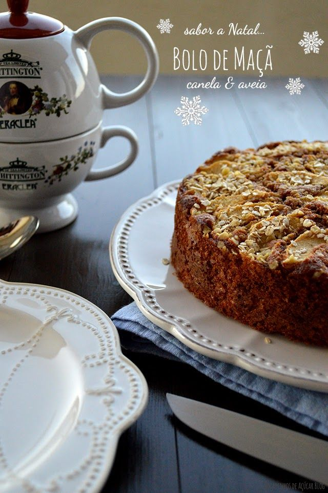 Em dias frios de Inverno, encontro conforto num chá bem quente acompanhado por um bolinho acabado de sair do forno...Resulta na...