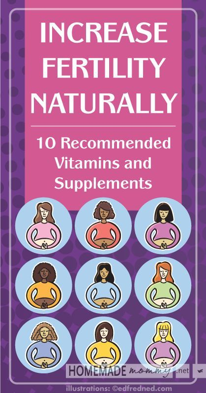 Increase Fertility Naturally 10 Vitamins and Supplements | www.homemademommy.net #article
