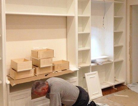 Mobili tinello ~ Best mobili soggiorno su misura images bookcase