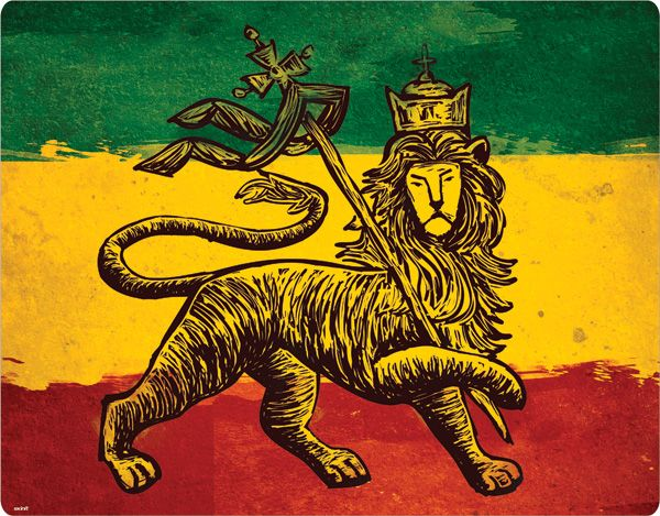 The Lion of Judah Rasta Flag