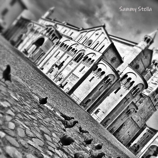 Piazza Grande, Duomo di #Modena. Modena Italy  (sammy_stella4modena's photo on Instagram)
