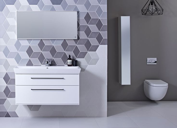 Purple Roper Rhodes bathroom