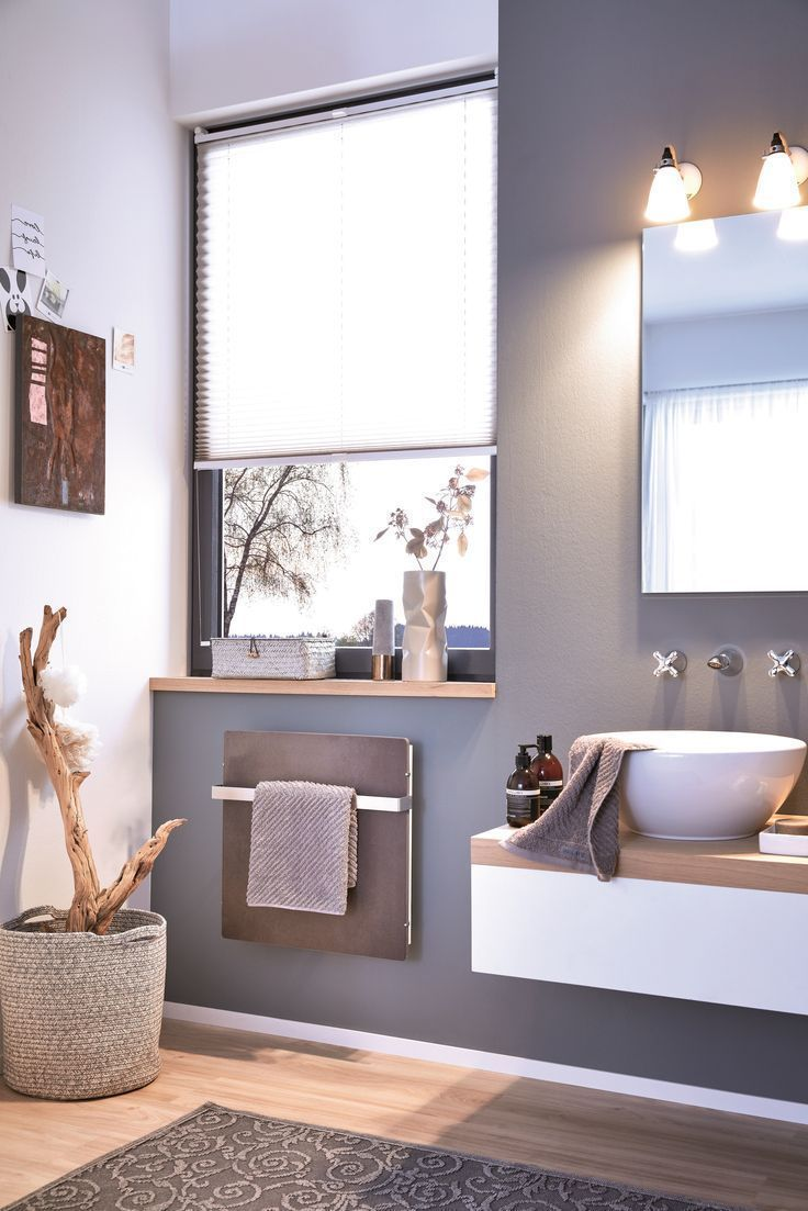 Akzent Bad Der Elektrische Furs Heizung In 2020 Small Bathroom Unique Dining Room Living Room Decor