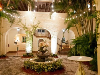 Villa Woodbine Coconut Grove Florida Wedding Venues 4
