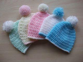 .Linda's Crafty Corner: Preemie Crochet Hat Pattern