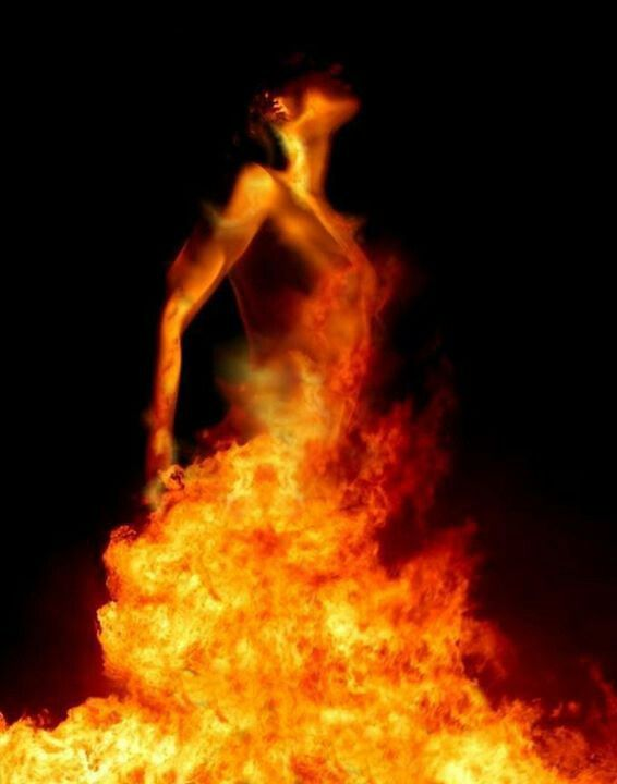 """""""Such fire destroys, but only in order to create. And heal. In its flames, our authenticity emerges, minus the case of mistaken identity with which we have burdened and obscured it.""""- Robert Augustus Masters"""