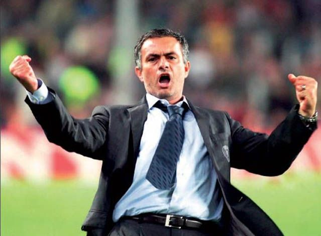 """José Mário dos Santos Mourinho Félix    """"The Special One""""  Eleito melhor treinador pela FIFA.  O homem que não se cansa de ganhar."""