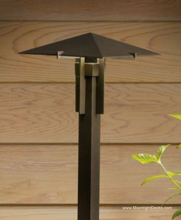 22 best deck lighting images on pinterest deck lighting lamps deck lighting using low voltage lighted post caps under railing led lights and step mozeypictures Image collections