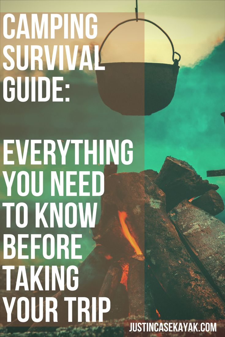 Camping Survival Guide - how do you stay safe when camping? Visit our blog to find out....:)