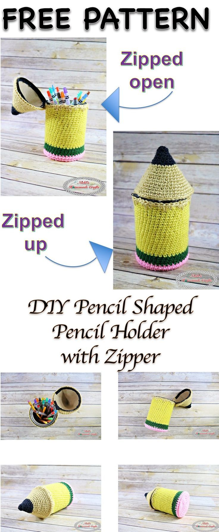 Mejores 15 imágenes de Crochet Teacher Gift Ideas en Pinterest ...