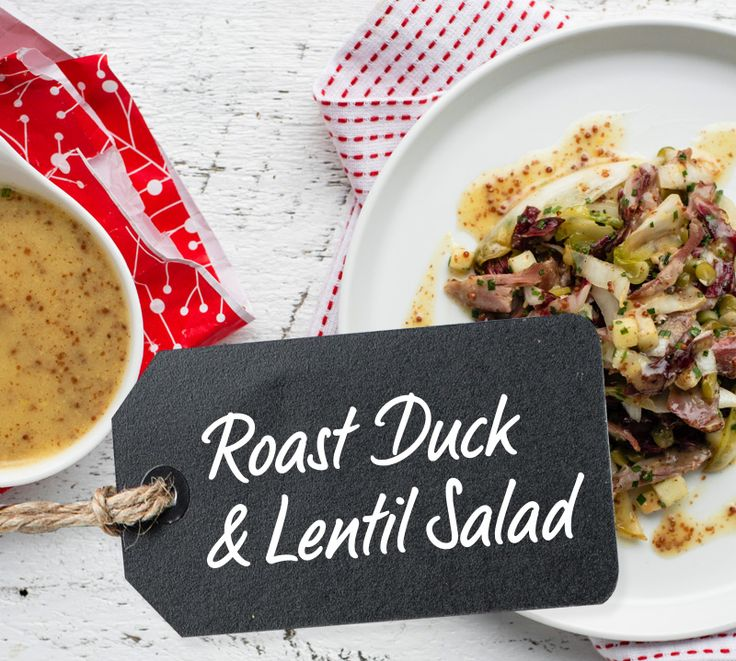 Roast Duck & Lentil Salad by Top Chef Canada Winner Dale MacKay
