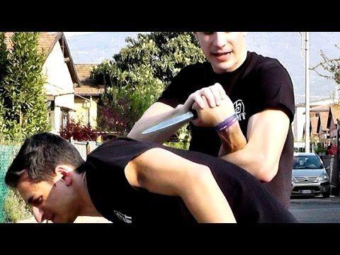 KRAV MAGA TRAINING • How to break the wrist - YouTube