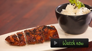 Tasty Char Sui Pork Fillet.    This delicious Char Sui Pork Fillet dish cooked with Murray Valley Pork is great for the whole family. With a mix of spices and complimented by rice or Chinese green vegetables, this meal will impress even the fussiest of food critics