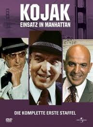Kojak is an American television series starring Telly Savalas as the title character, bald New York City Police Department Detective Lieutenant Theo Kojak. It aired from October 24, 1973, to March 18, 1978, on CBS. It took the time slot of the popular Cannon series, which was moved one hour earlier. Kojak's Greek American heritage, shared by actor Savalas, was prominently featured in the series. In 1999 TV Guide ranked Theo Kojak number 18 on its 50 Greatest TV Characters of All Time list.