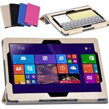 Откидная крышка чехол для Lemovo Miix 310-10ICR/Miix 310 10icr 10.1 tablet Аксессуары магнитная крышка случая стойки + экран протектор //Цена: $US $13.60 & Бесплатная доставка //  #смартфоны #gadget