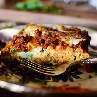 I'm sure everyone has his own favorite go-to lasagna recipe, but I'd just like to offer that this really is The Best Lasagna Ever. Part of its appeal is that the ingredients used are totally basic;...