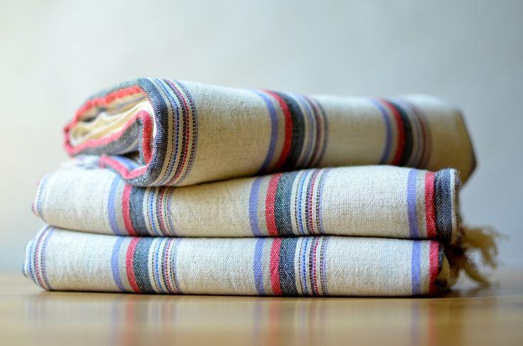 Belen Linen Towel from Indigo Traders - Fine Mediterranean Textiles