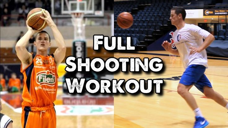 Full Shooting Workout for Basketball Players