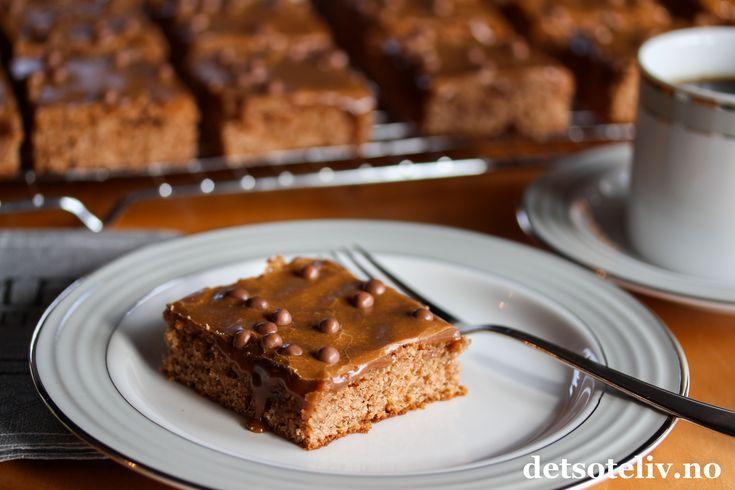Sjokoladekake med karamellisert melk