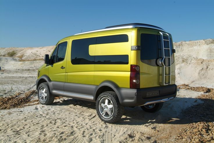 VW Crafter Atacama 4WD, an all off-road campervan.