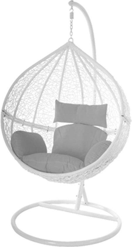 Hangstoel Swing Egg.Egg Hangstoel Hangover Wit In 2019 Living Room Hanging Chair
