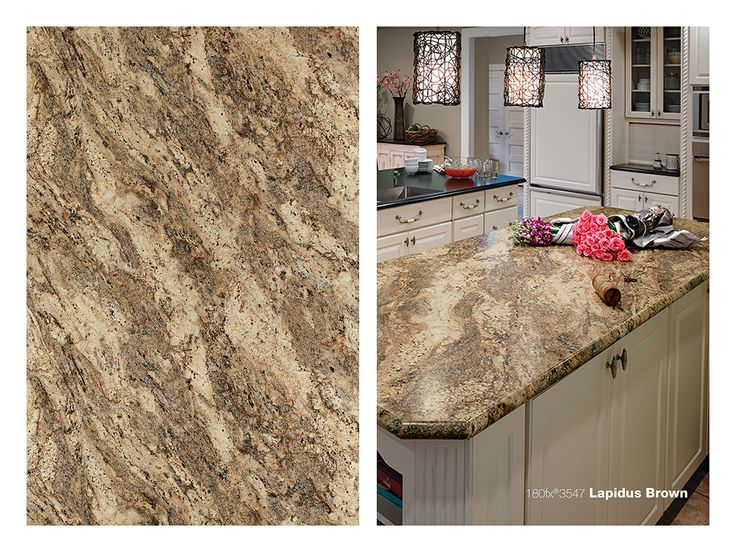 Charming 2017 Formica 3547 Lapidus Brown Color On A Kitchen Countertop. Looks Like  Real Granite Tops. Beautiful For Your New Countertops.