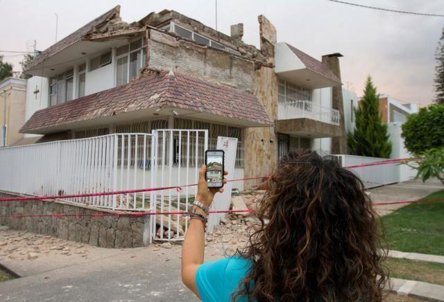 Earthquake shakes Guadalajara, Mexico: emergency services