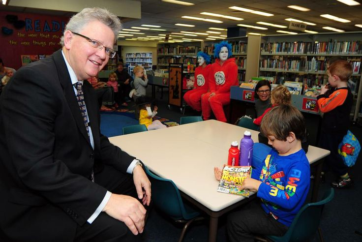Plenty of life still left in libraries by Faye Wheeler (2014, June 7) Daily Liberal.  State librarian Dr Alex Byrne during children's Rhymetime at the Dubbo branch of the Macquarie Regional Library. 	     Photo: Belinda Soole