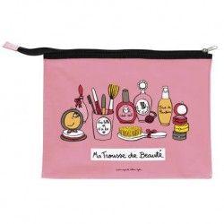Trousse de maquillage CELIA Secret de beauté - rose