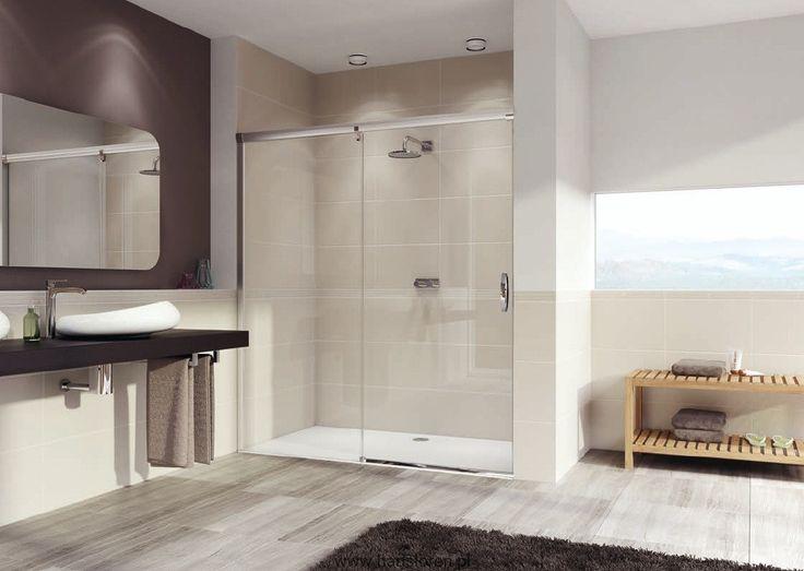 Aura Huppe drzwi suwane 1-częściowe ze stałym segmentem elegance 150cm Lewe 401407087322