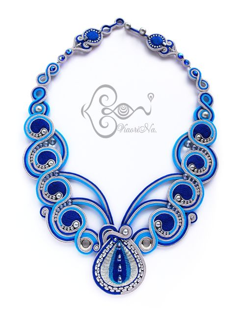 KaoriNa. Soutache Art | ソウタシエ: NECKLACES