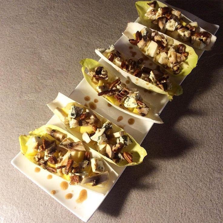 Parfait pour les apros lgers dautomne  la salade dendiveshellip