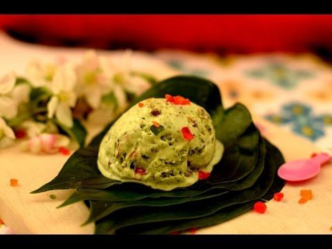 Paan Dilbahar Ice cream | Paan Ice cream | Paan Kulfi | Betel leaf ice cream