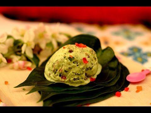 Paan Dilbahar Ice cream | Paan Ice cream | Paan Kulfi | Betel leaf ice cream