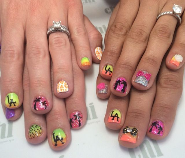 1000+ Images About Coachella Music Festival Nail Art On