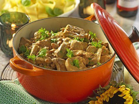 Krämig köttgryta med ädelost