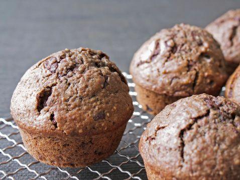 HealingFoods - Chocolade muffins van kokosmeel