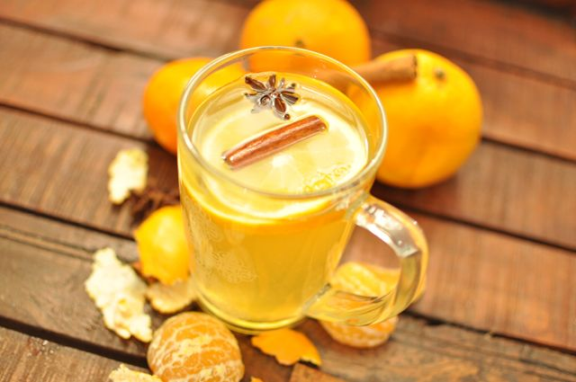 Perfect for christmas time: White Hot Spiced Wine