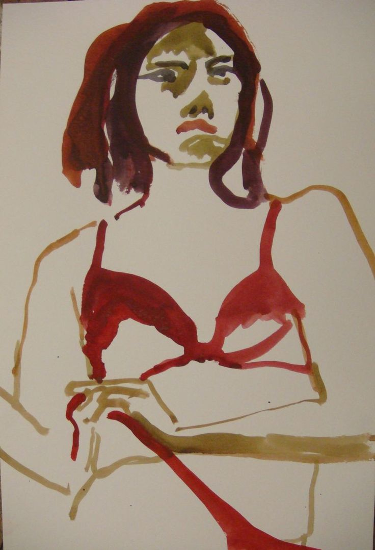 Watercolor artists names - Artist Name Sklaroff Collection Name Watercolors Art Name Woman In