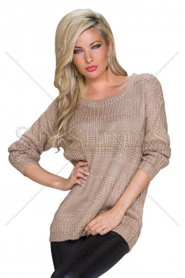 Warm Moment Brown Sweater