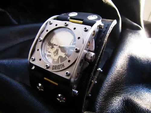 The INDUSTRIAL custom watch by GRIOTH watches www.griothwatches.com