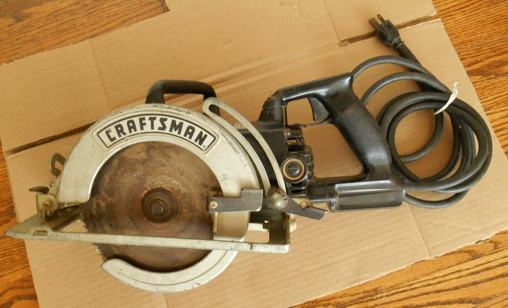 Sears Craftsman Industrial 7 1/4 inch worm drive circular saw, works great
