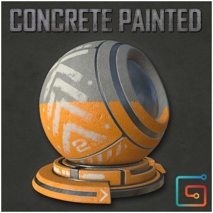 "Concrete Painted, Alfredo ""Fredo"" Gutierrez on ArtStation at https://www.artstation.com/artwork/aBrA8"