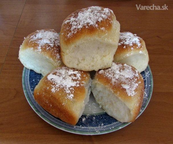 Lekvárové buchty ako vatička (fotorecept) - Recept