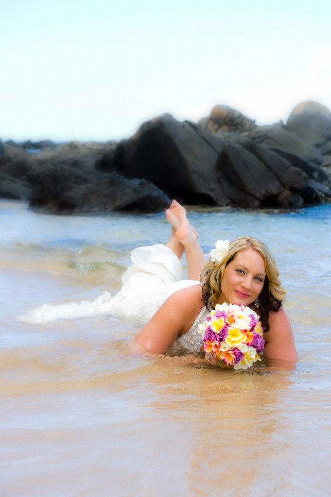 Maui Trash The Dress Photography Session Easy Fun And Reasonably Priced