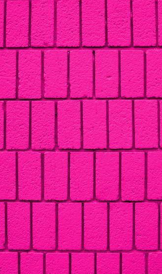 Pink Magenta And Bricks On Pinterest