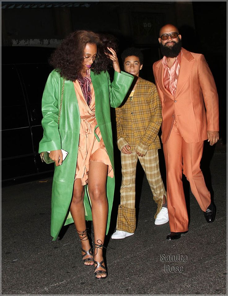 Solange and family