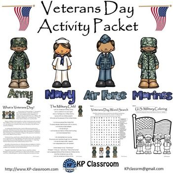 17 Best images about Activities for Veteran's Day on Pinterest ...