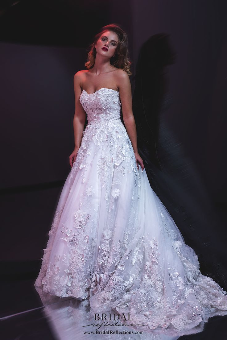 View our Stephen Yearick collection of wedding dresses and bridal gowns available at our New York bridal salons.