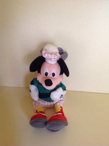 Details About Minnie Mouse Mini Bean Bag Plush Red Stuffed Animal Doll Toy Disney
